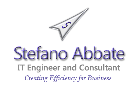 Stefano Abbate - IT Engineer and Consultant - Creating Efficiency for Business